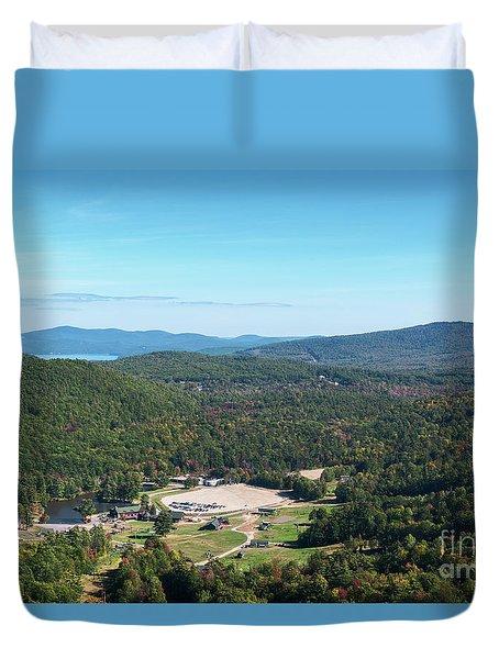 Gunstock Mountain Resort Duvet Cover