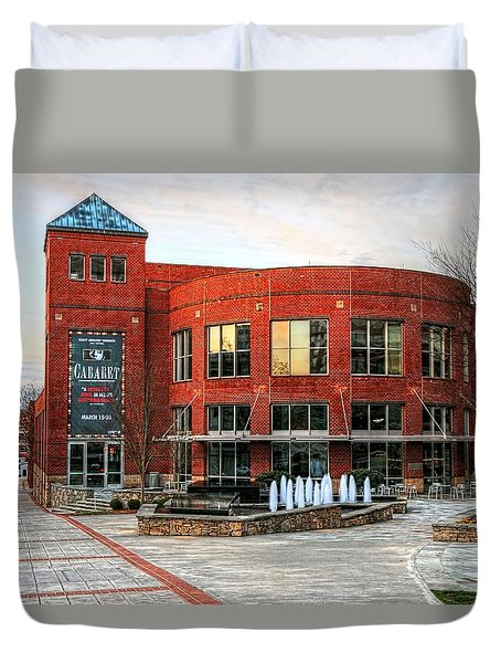 Gunter Theater At The Peace Center, Greenville South Carolina Duvet Cover
