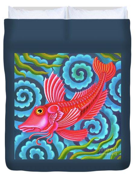Gurnard Fish Duvet Cover