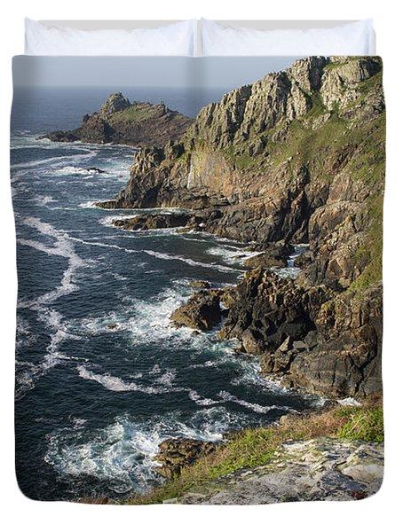 Gurnards Head In Cornwall Duvet Cover