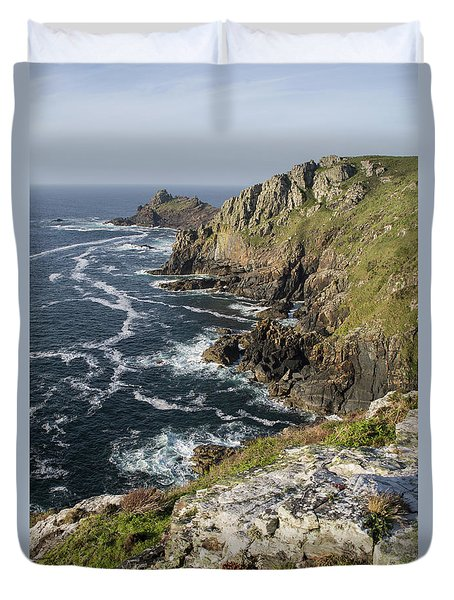 Gurnards Head In Cornwall Duvet Cover