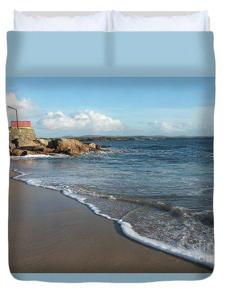 Gurteen Beach Duvet Cover