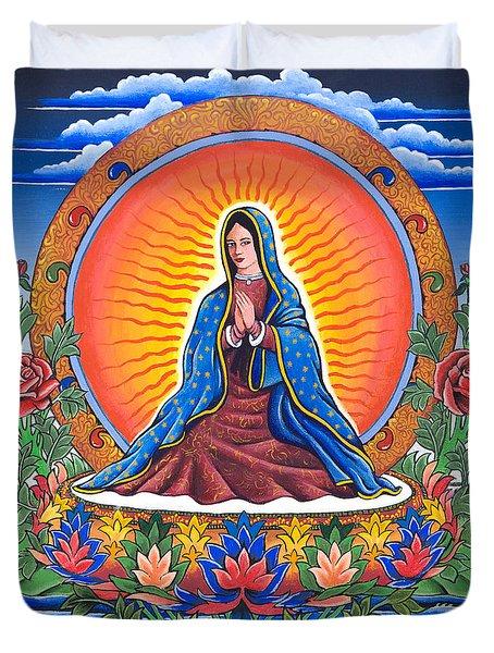 Guru Guadalupe Duvet Cover