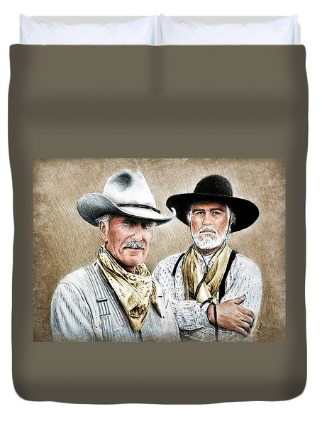 Gus And Woodrow Colour Ver Duvet Cover
