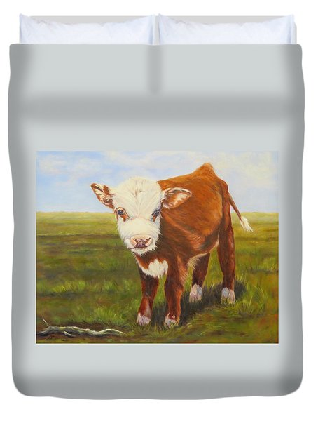 Gus, Cow Duvet Cover