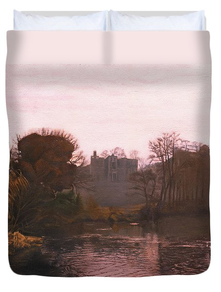 Guys Cliffe House Warwick England Duvet Cover