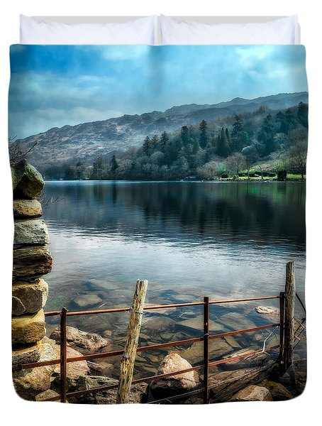 Gwynant Lake Duvet Cover