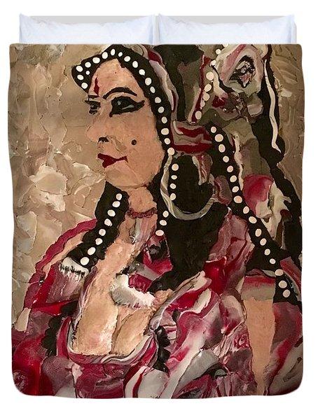 Gypsy Dancer Duvet Cover