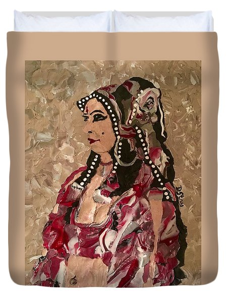 Gypsy Dancer Duvet Cover