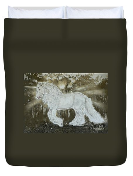 Gypsy Dreams Duvet Cover by Louise Green
