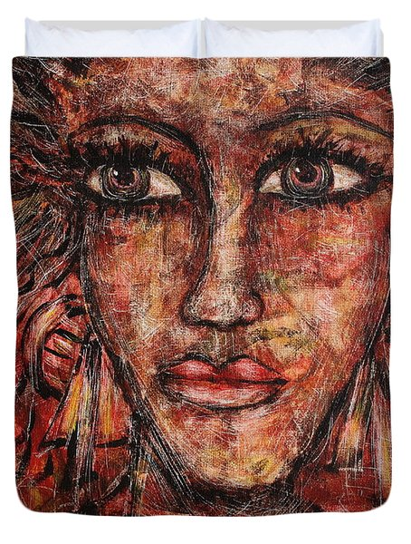 Gypsy Duvet Cover by Natalie Holland