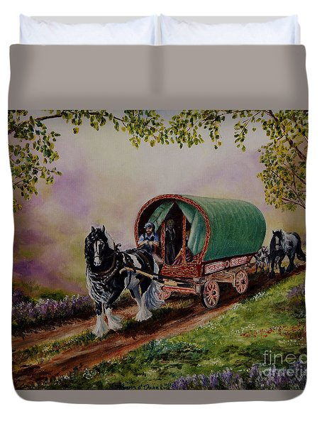 Gypsy Road Duvet Cover by Ruanna Sion Shadd a'Dann'l Yoder
