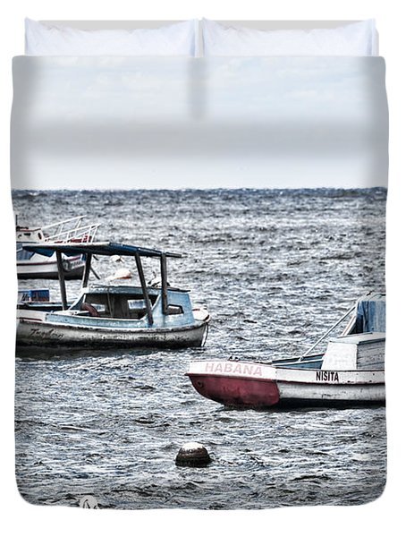 Habana Ocean Ride Duvet Cover