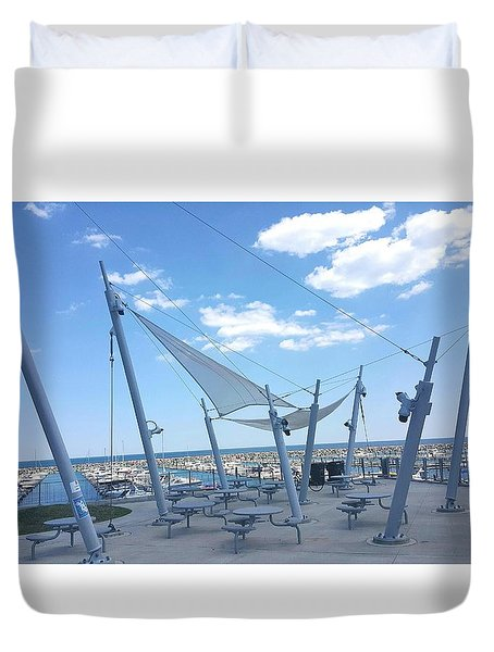 Habor View Duvet Cover