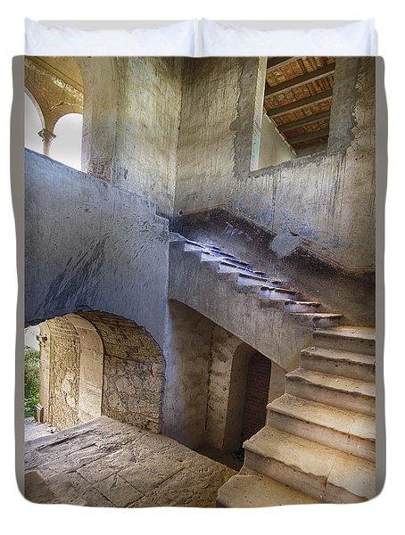 Hacienda Stairs Duvet Cover