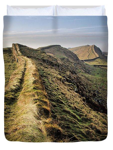 Hadrians Wall Duvet Cover