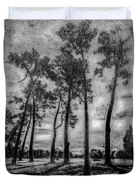 Hagley Park Treescape Duvet Cover