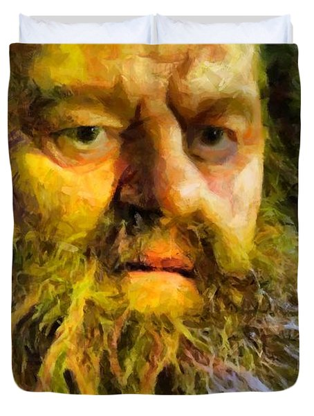 Hagrid Duvet Cover