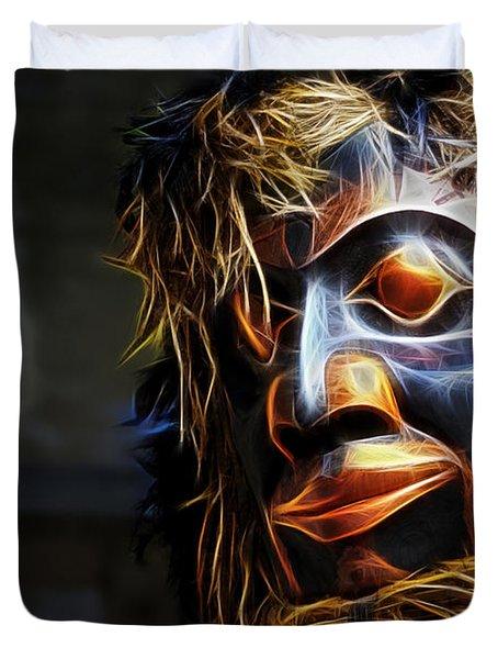 Haida Head Duvet Cover