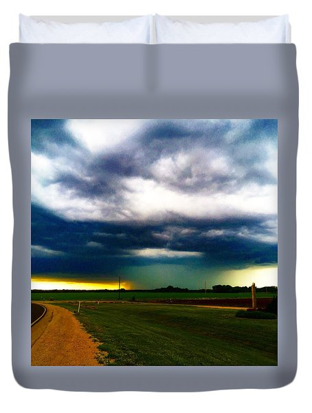 Hail Core Illuminated Duvet Cover