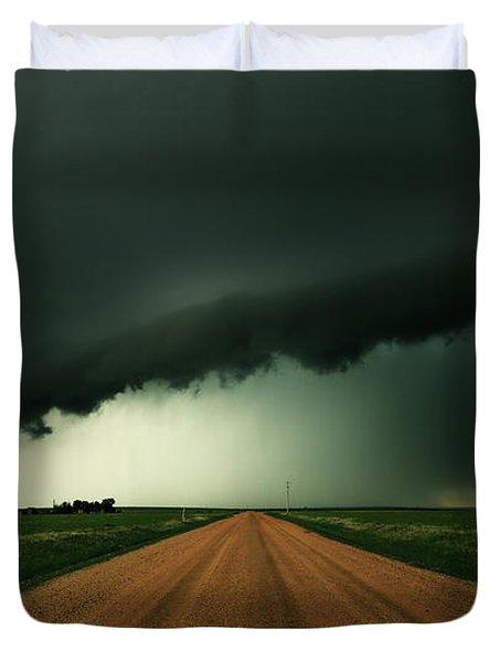 Hail Shaft Duvet Cover