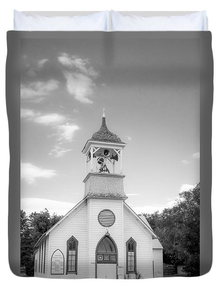 Hailey Church Duvet Cover