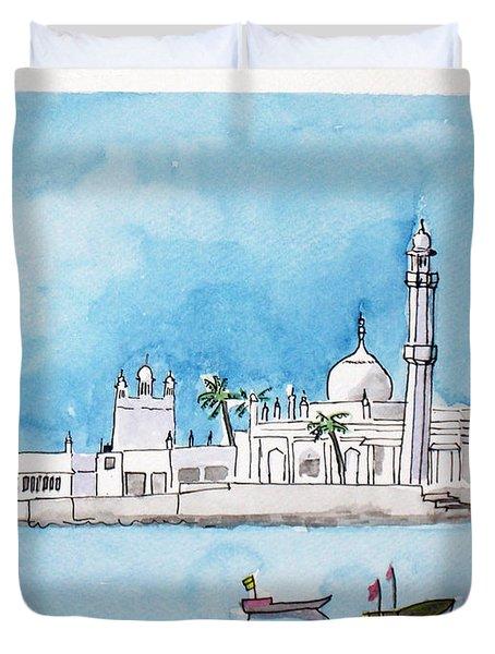 Haji Ali Mumbai Duvet Cover