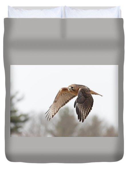 Hal Takes Flight Duvet Cover