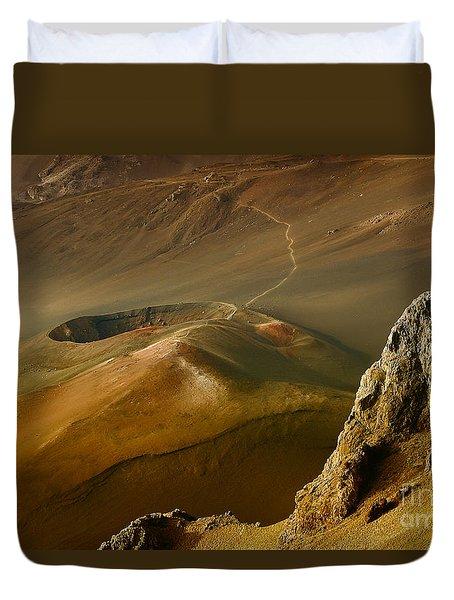 Haleakala Caldera Duvet Cover