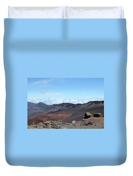 A Sleeping Giant Duvet Cover