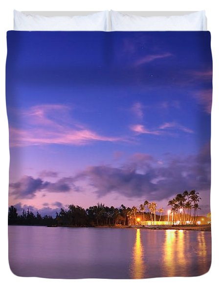 Hale'iwa Evening Duvet Cover
