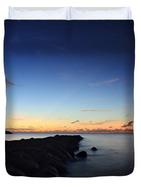 Hale'iwa Harbor Duvet Cover