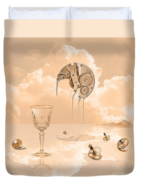 Beyond Time Duvet Cover