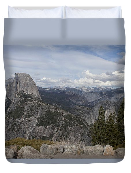 Half Dome Duvet Cover by Ivete Basso Photography