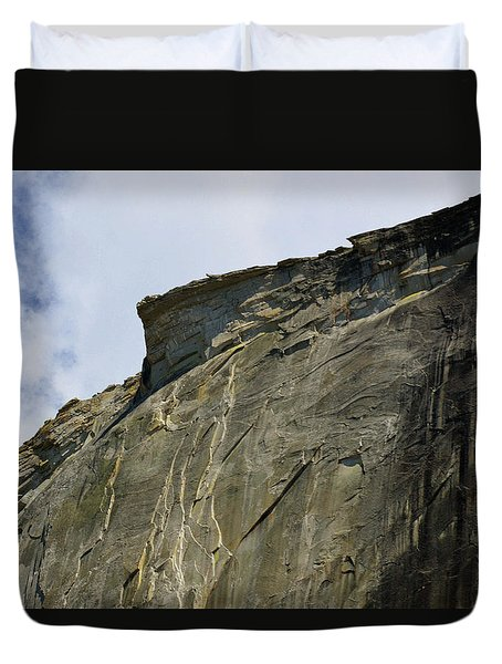 Half Dome With A View Of The Visor  Duvet Cover