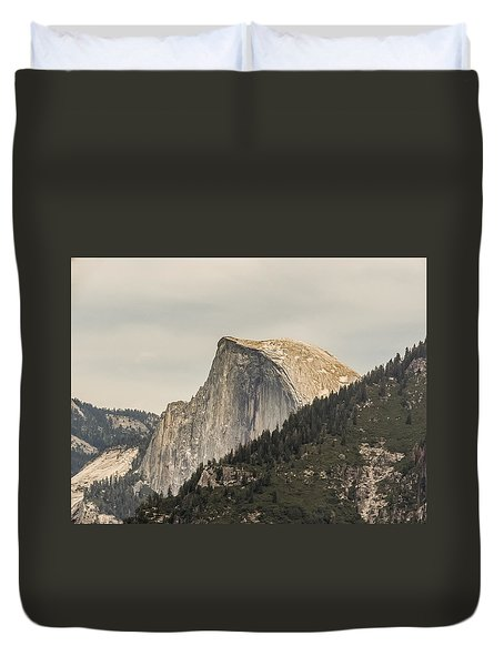 Half Dome Yosemite Valley Yosemite National Park Duvet Cover