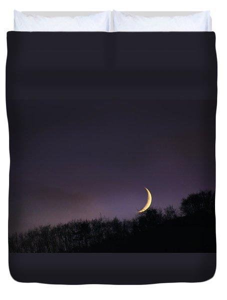 Half Moon Duvet Cover by Martina  Rathgens