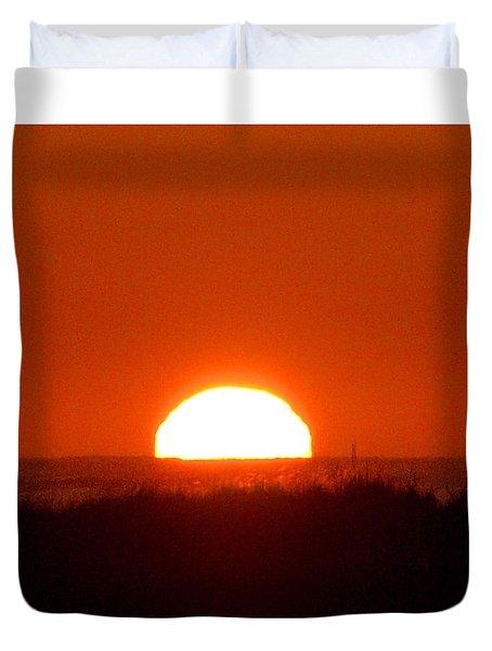 Half Sun Duvet Cover by  Newwwman