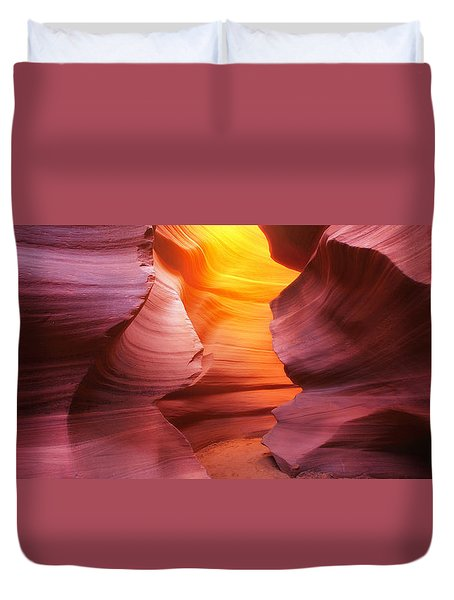 Hall Of Fire Duvet Cover