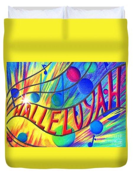 Halleluyah Duvet Cover