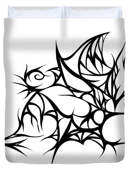 Hallow Web Duvet Cover