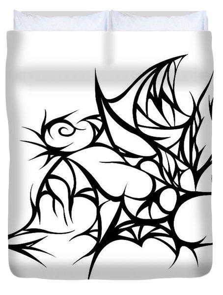 Hallow Web Duvet Cover by Jamie Lynn