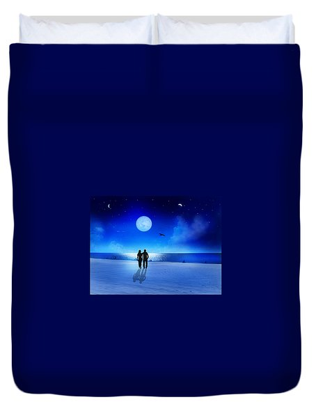 Night Blessings Duvet Cover