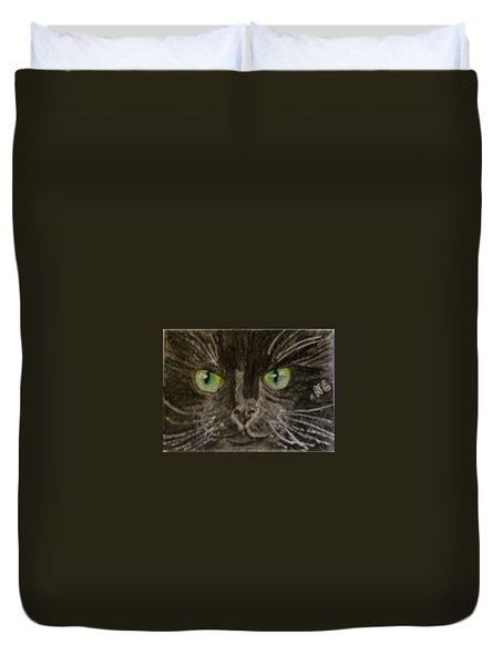 Halloween Black Cat I Duvet Cover