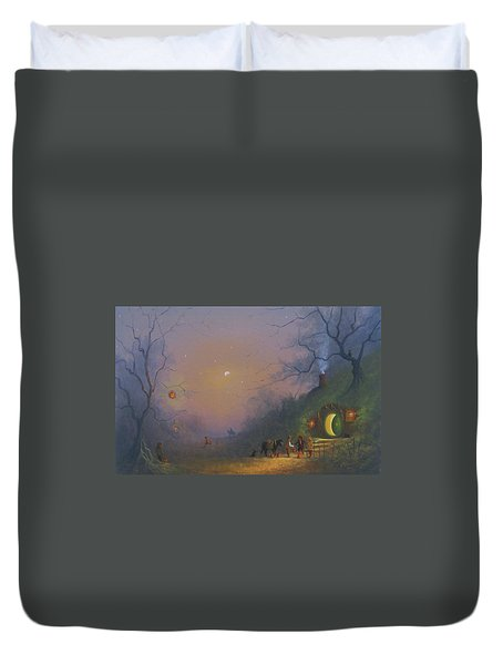 A Shire Halloween  Duvet Cover
