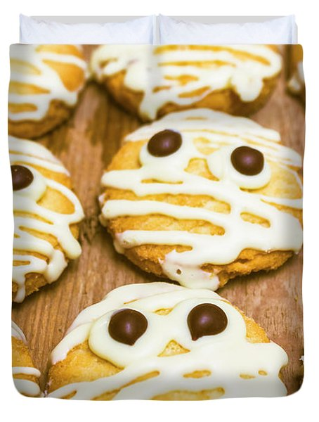 Halloween Little Monster Biscuits Duvet Cover