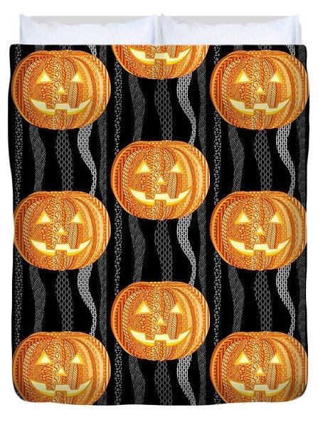 Halloween Pattern Duvet Cover