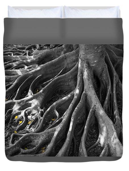 Autumn Roots Duvet Cover