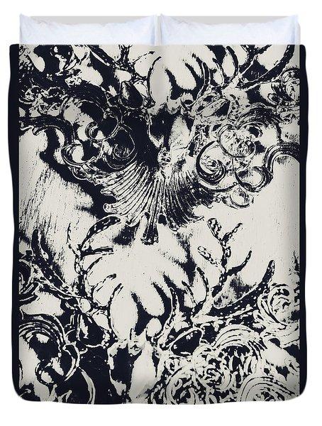 Halls Of Horned Art Duvet Cover