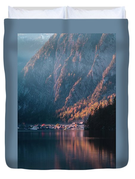 Hallstatt Fall Duvet Cover